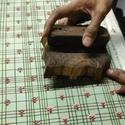 Our Nara Print (AW21 blockprint)